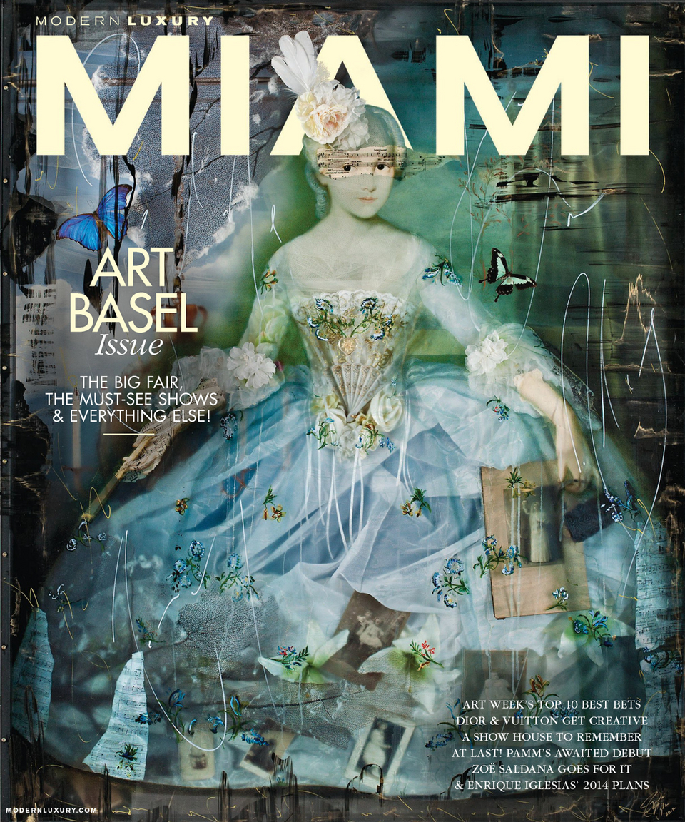 Ingrid Dee Magidson on the Cover of Miami Magazine