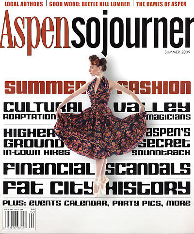 Ingrid Magidson Featured in Aspen Sojourner 2009